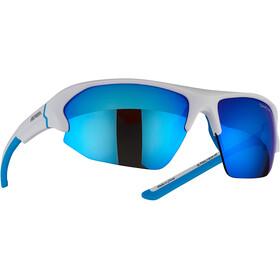 Alpina Lyron HR Okulary rowerowe, biały/niebieski